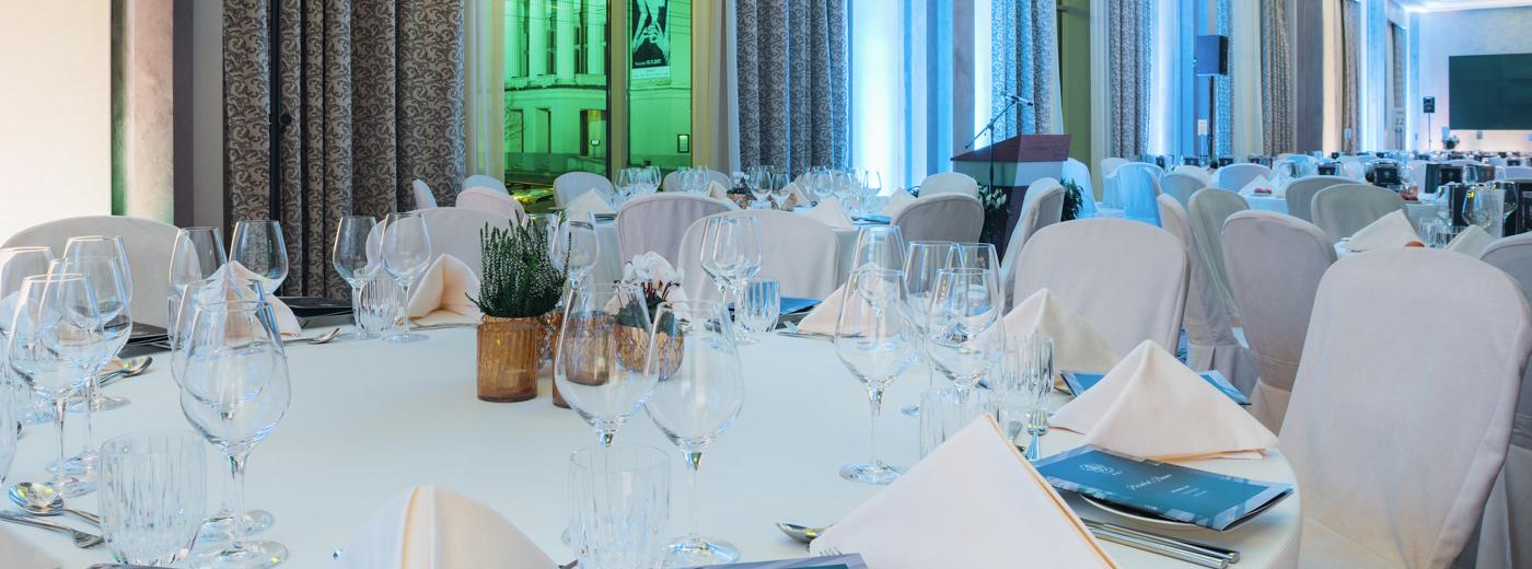 Grand Hotel Kempinski Riga Gala Dinner