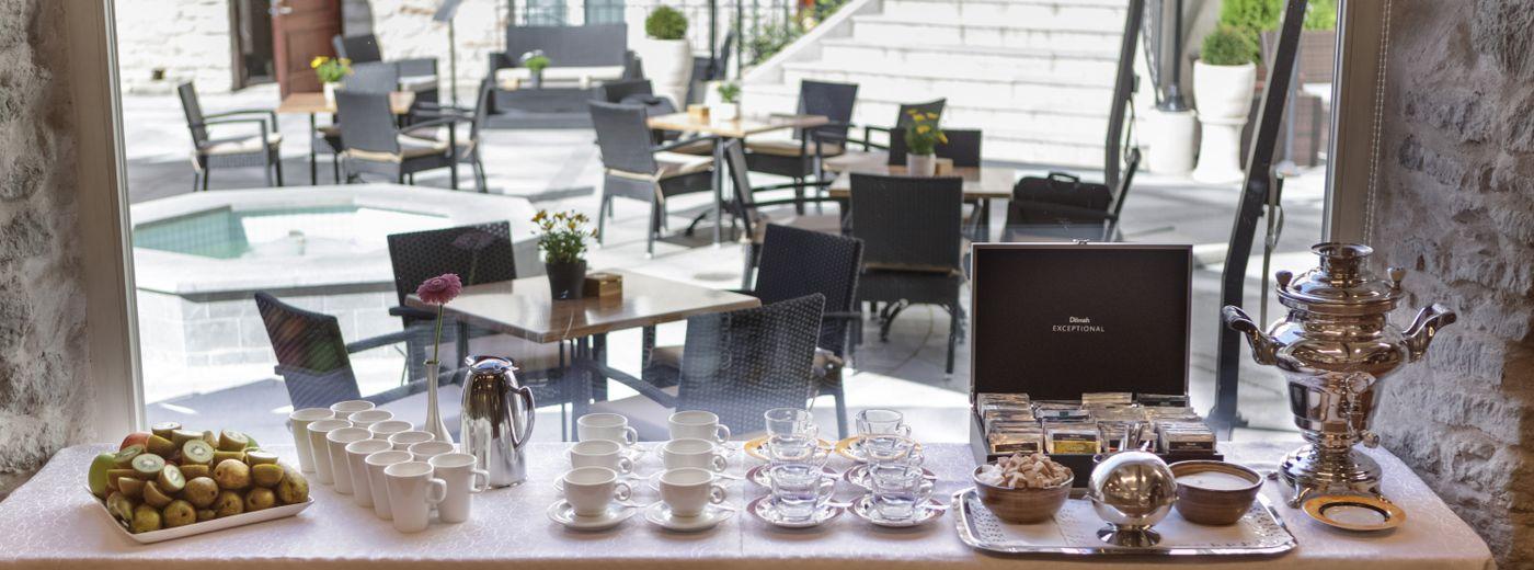 Von Stackelberg Hotel Tallinn Coffee Break
