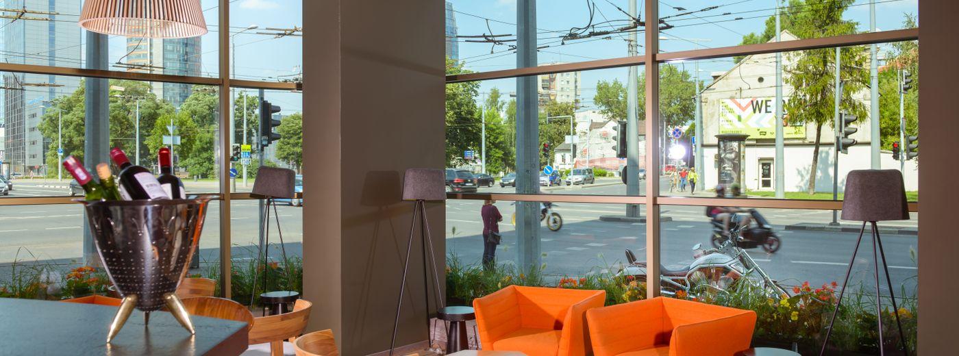 Holiday Inn Vilnius Lobby
