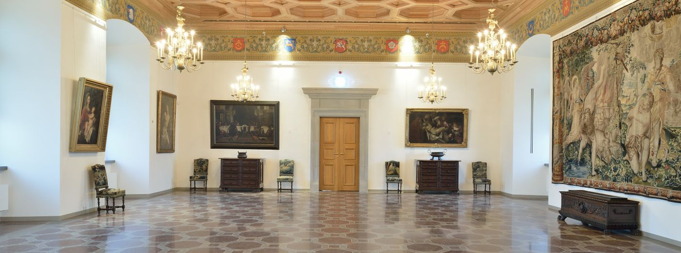 The Palace of the Grand Dukes Conference Third Manneristic Antechamber