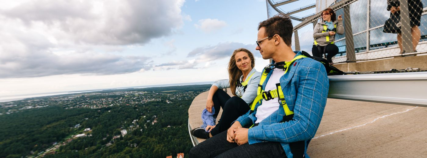 Walk on the Edge Tallinn TV Tower