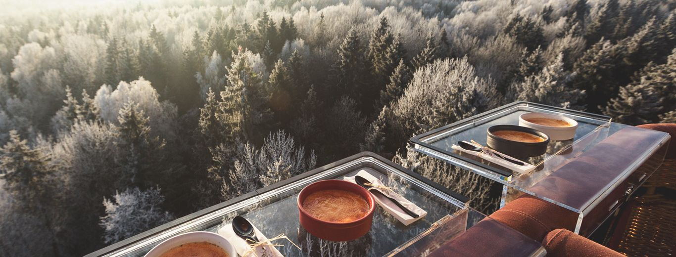 Amberton Air Balloon Flight with dinner over Vilnius