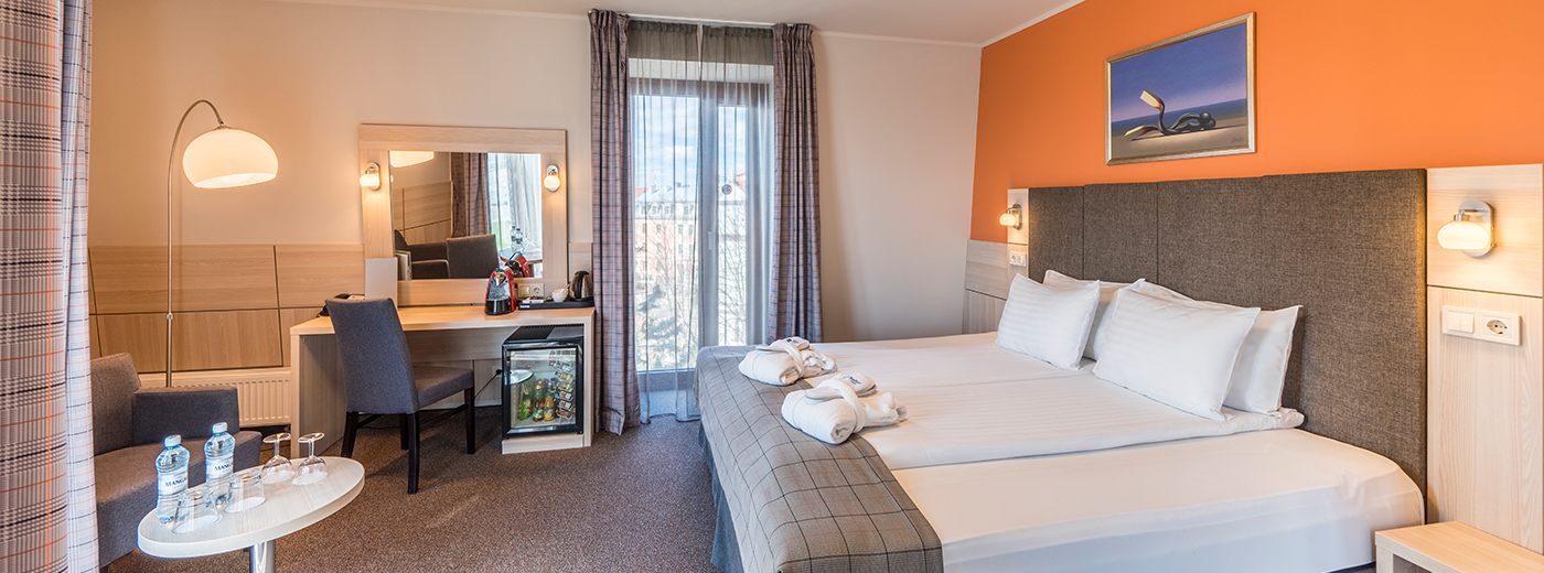 Accommodation at Wellton Riga Hotel & SPA