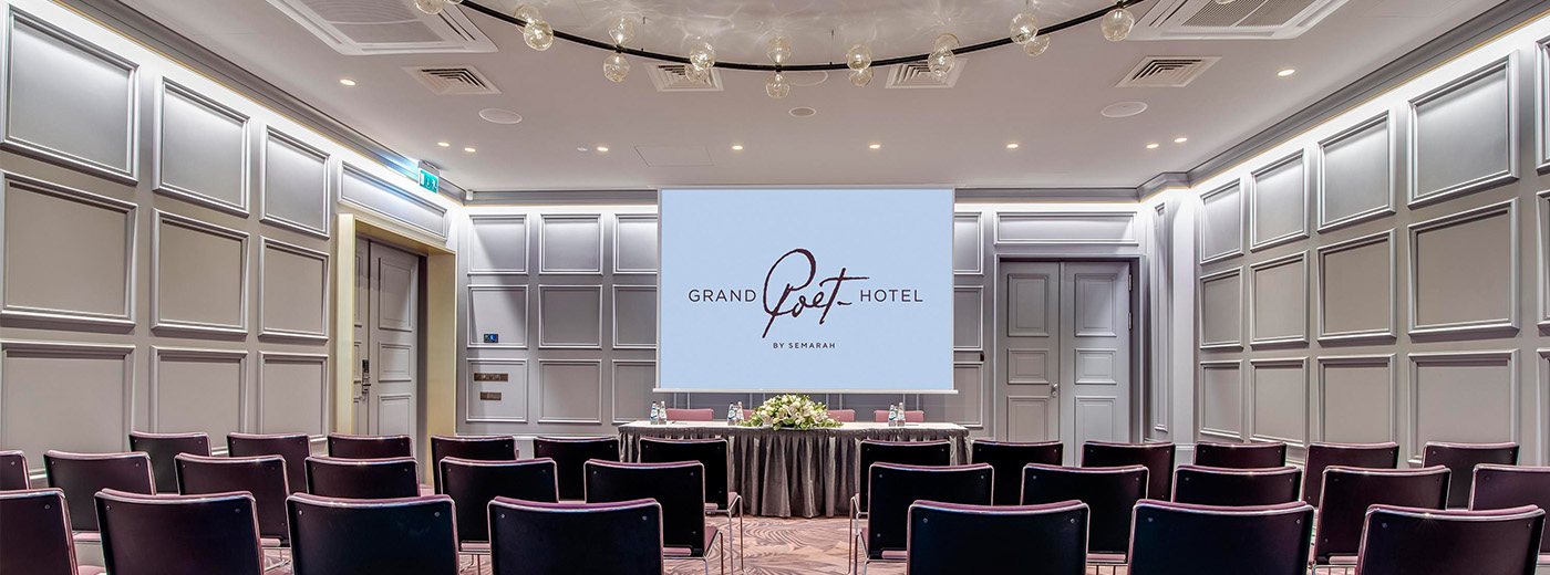 Conference at Grand Poet by Semarah