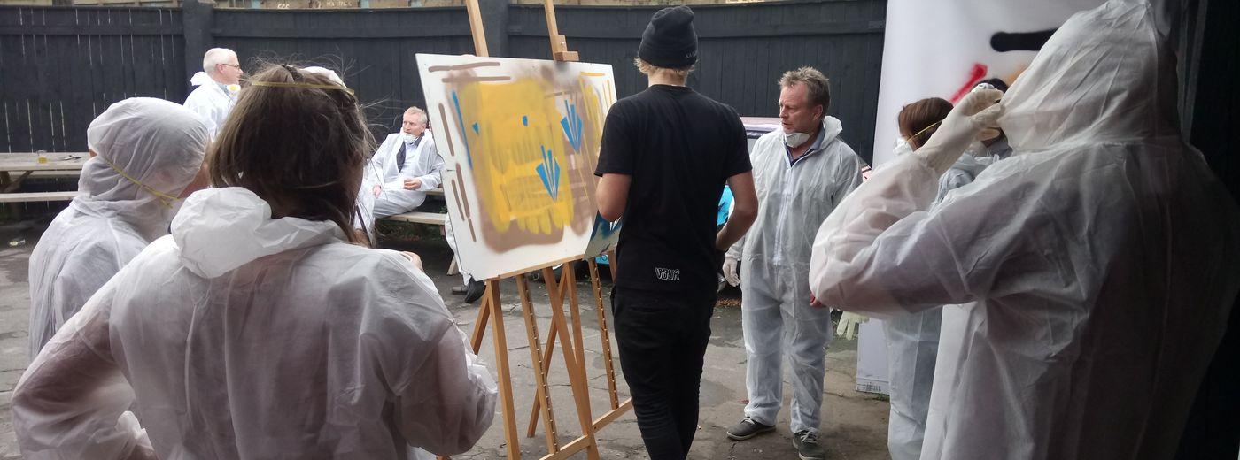Graffiti style event Master-class
