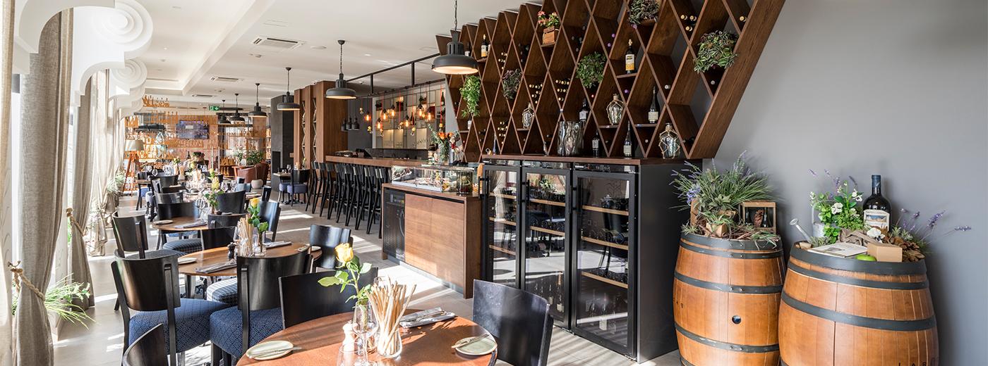 Restaurant at Wellton Riga Hotel & SPA