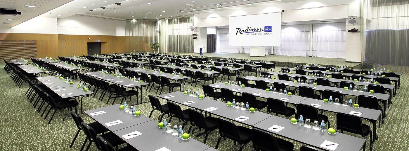 Radisson Blu Hotel Lietuva Alfa classroom