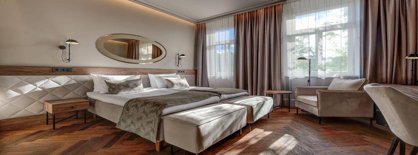 Vilnia Hotel room