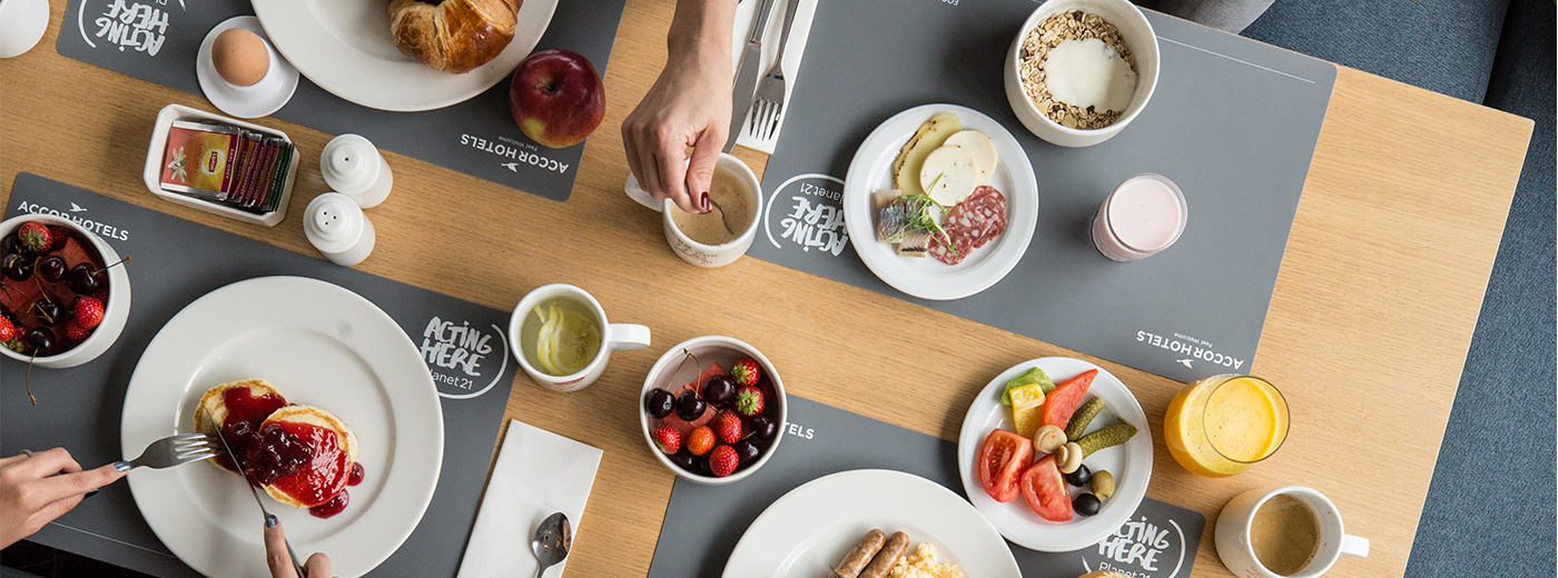 Novotel Vilnius Centre Breakfast