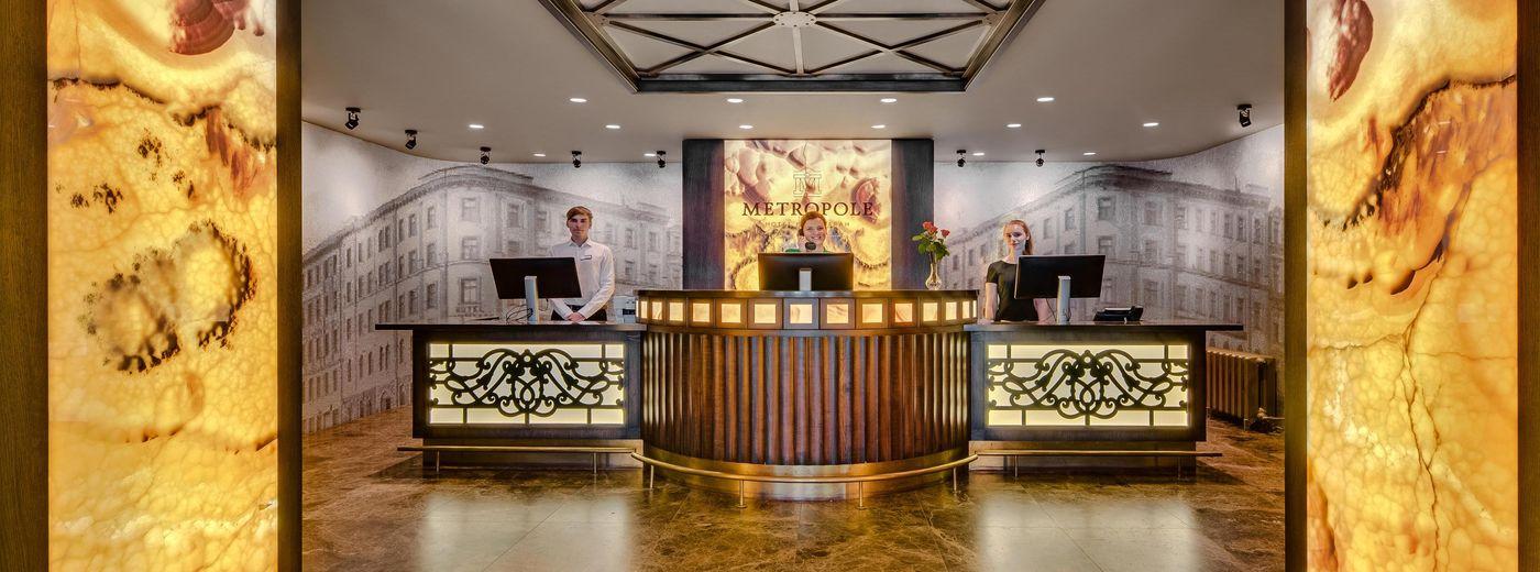 Metropole by Semarah Hotels Reception