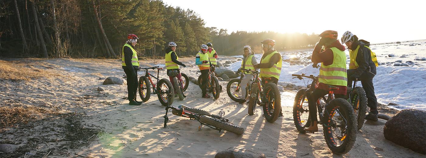 Fatbike Teambuilding Activity in Tallinn